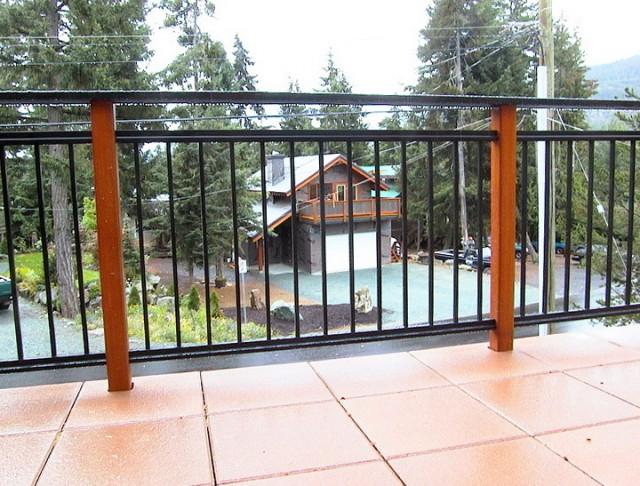 Extending Height Aluminum Railings For Decks