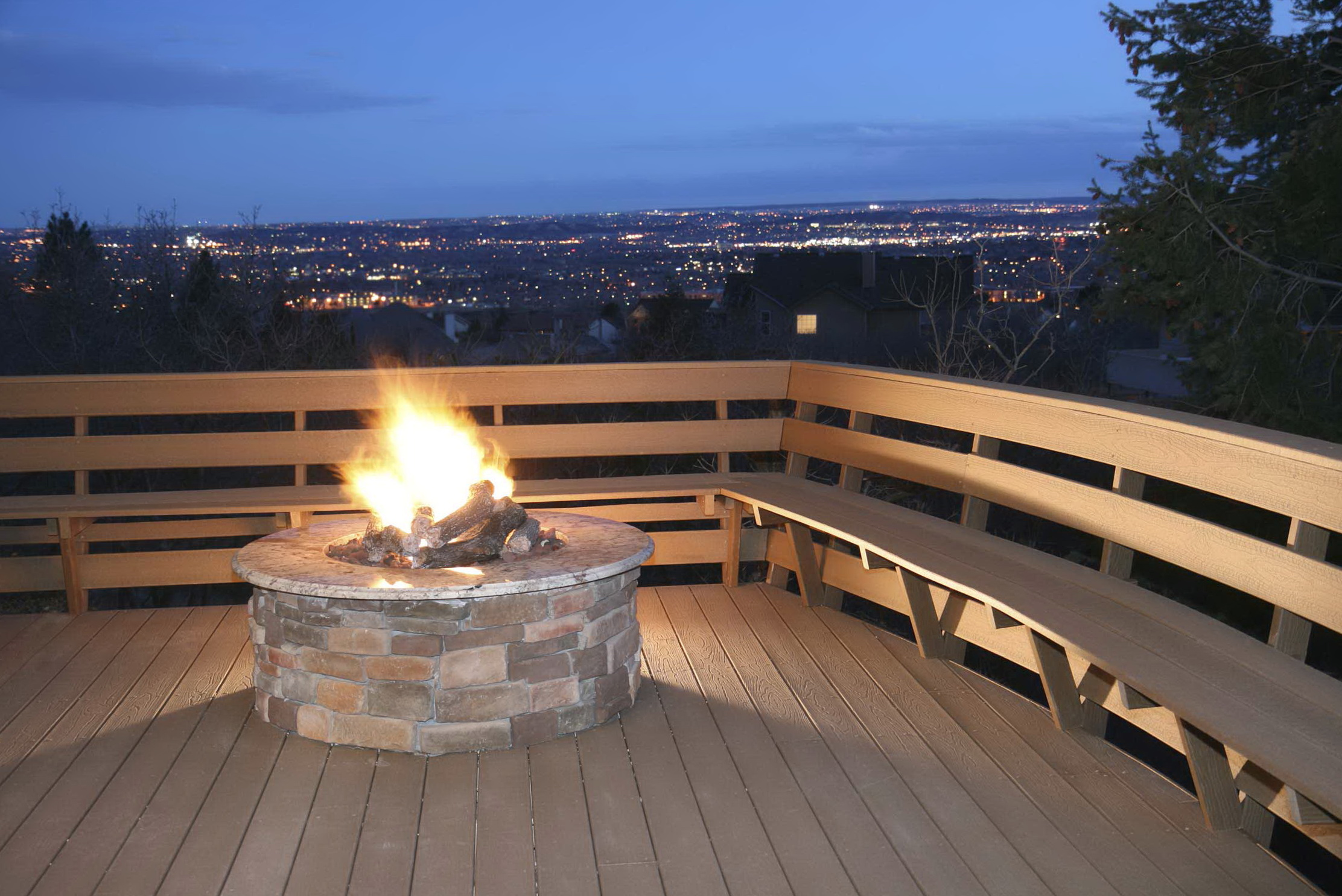 Fire Pits For Wooden Decks