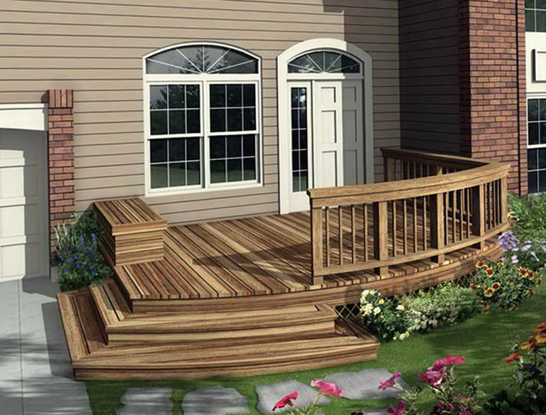 Front porch decks ideas home design ideas for Small outdoor deck ideas