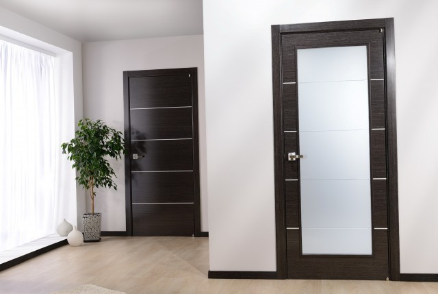 Frosted Glass Closet Doors Modern