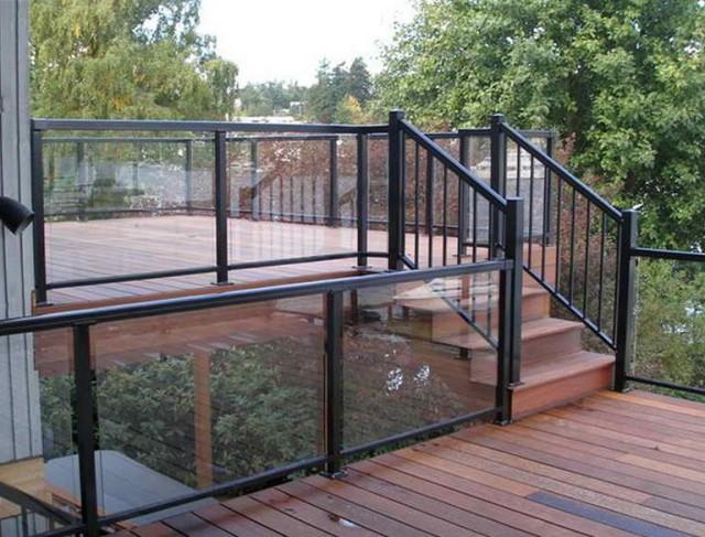 Glass Deck Railing Systems Calgary