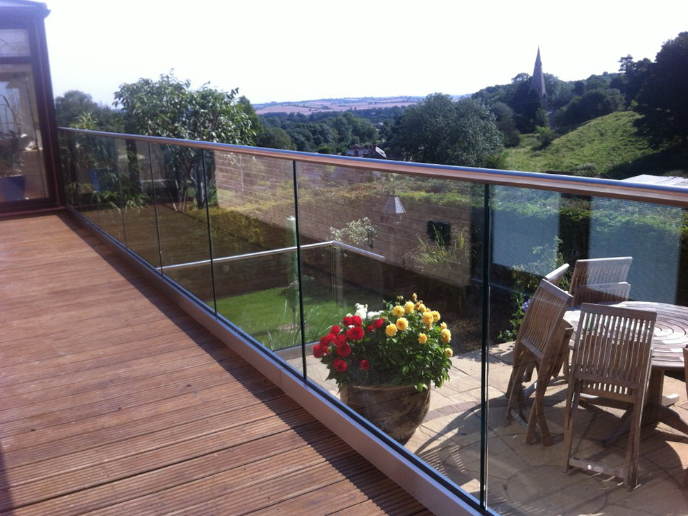 Glass Deck Railing Systems Uk Home Design Ideas