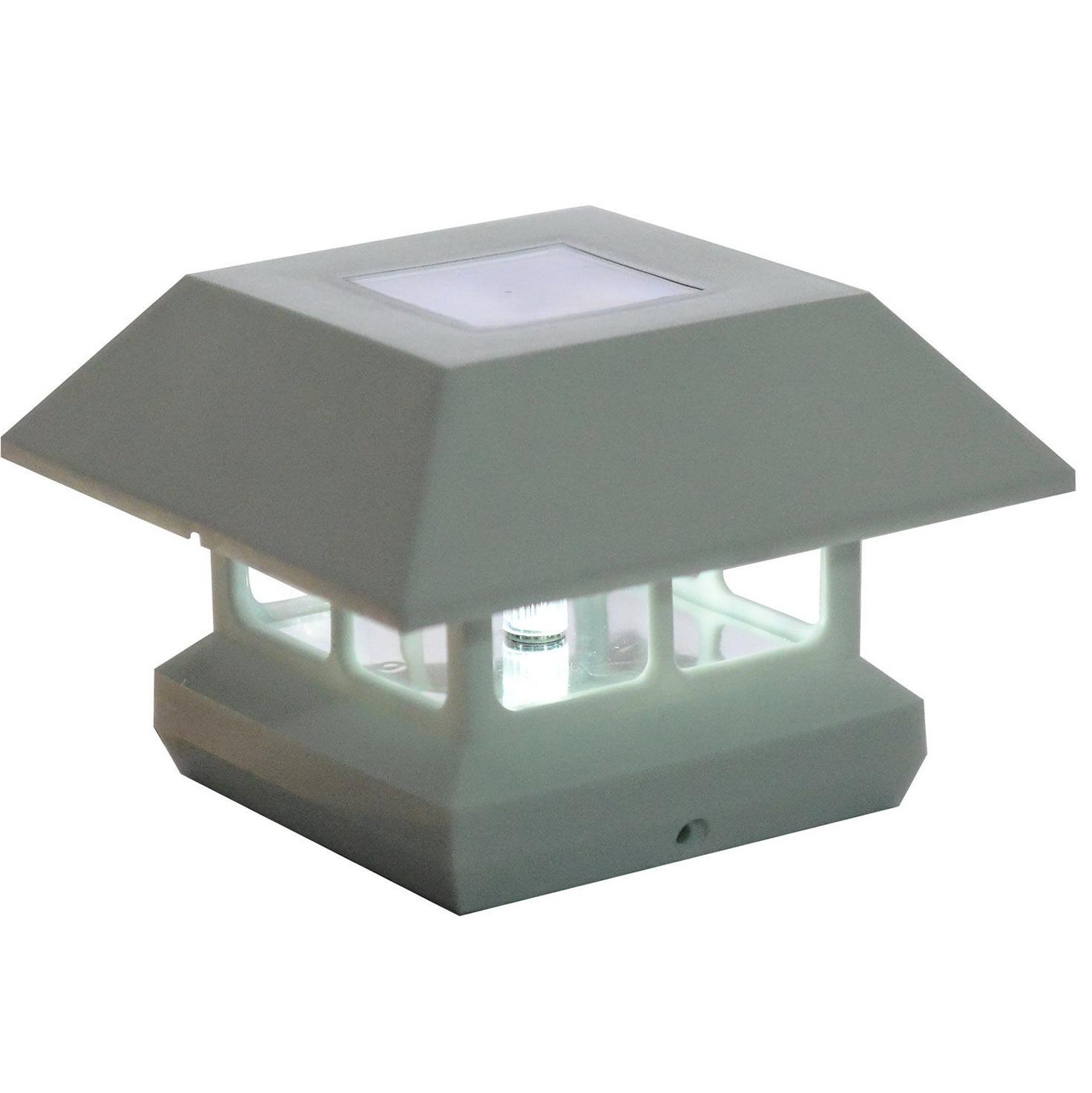 Hampton Bay Solar Deck Post Caps Home Design Ideas
