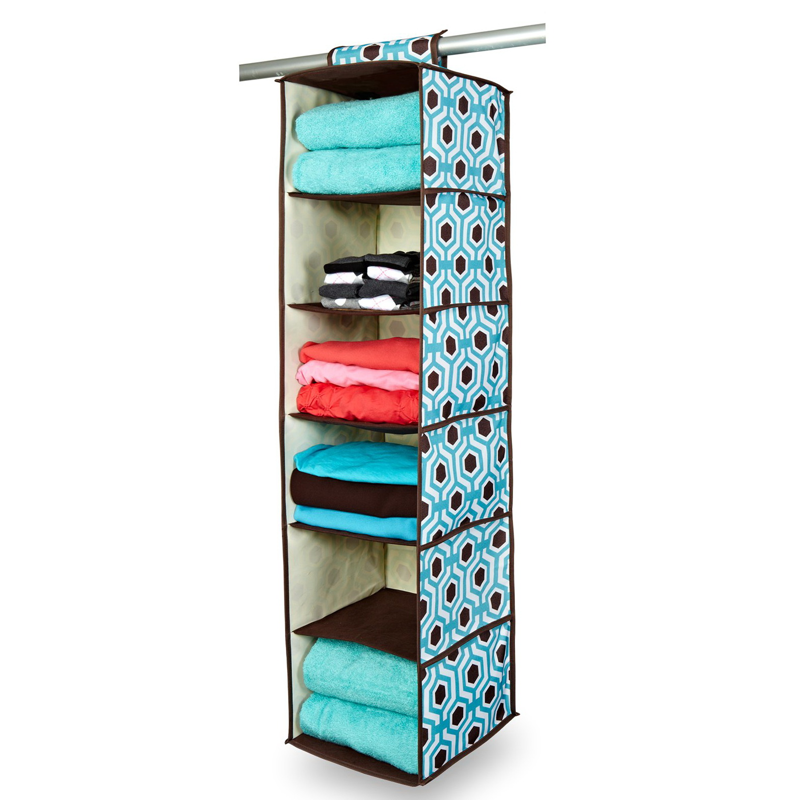 hanging closet organizers for clothes home design ideas