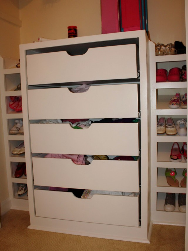 Hanging Closet Organizers With Drawers