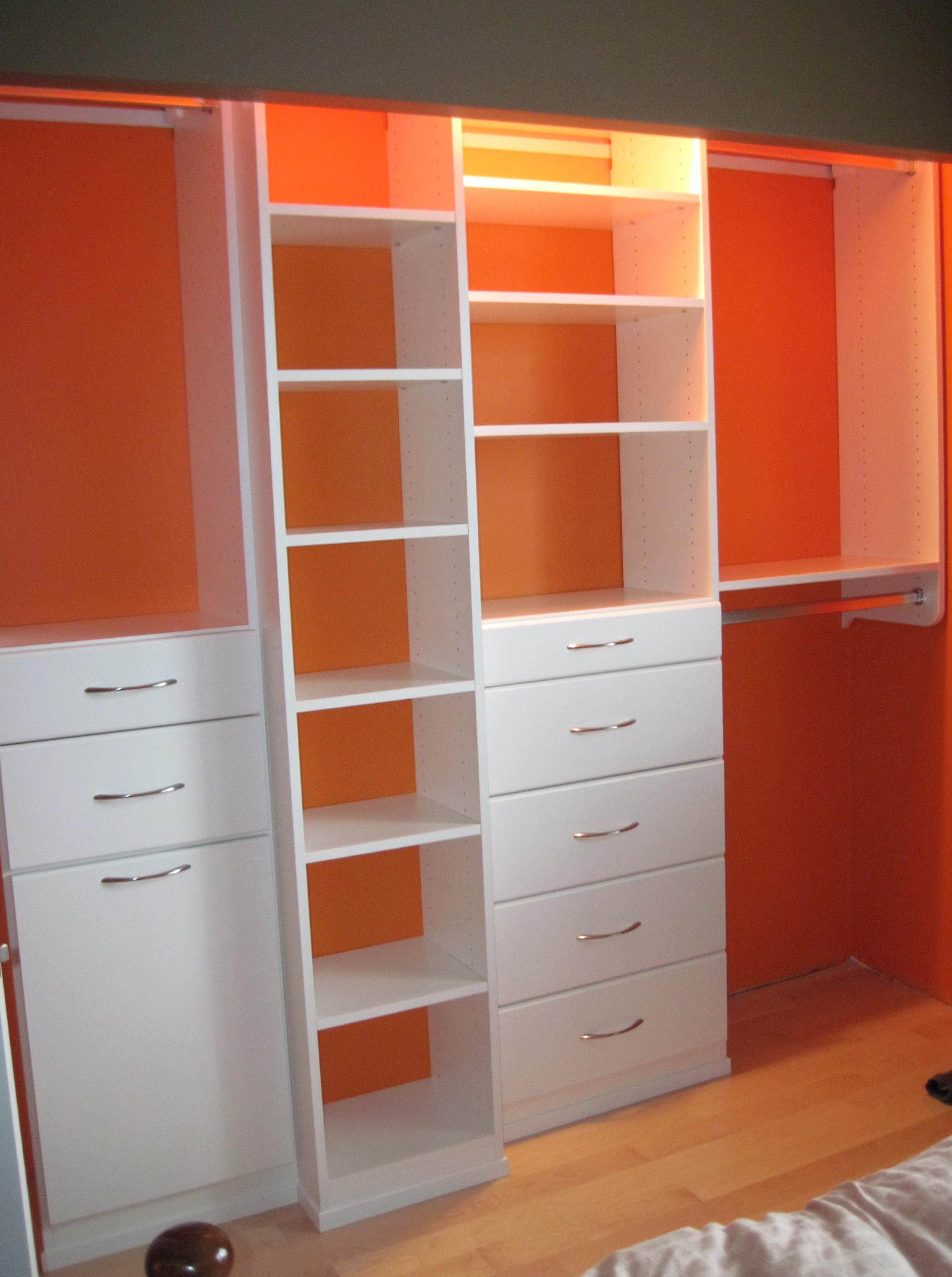 Home depot white closet organizers home design ideas Home depot closetmaid design