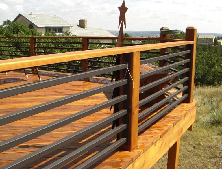 Horizontal Deck Railing Pictures