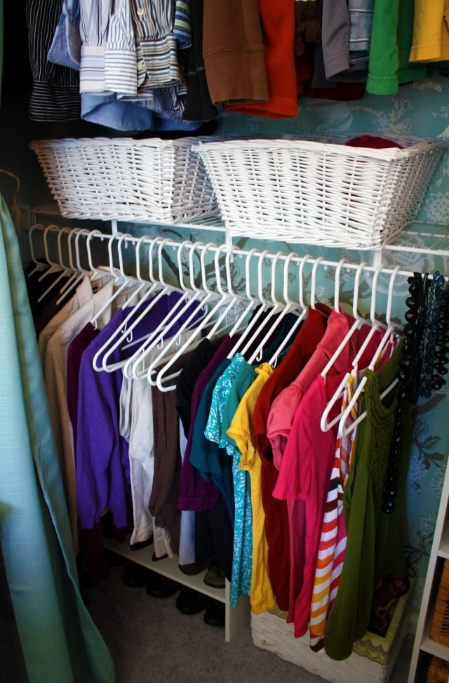How To Organize My Closet By Color