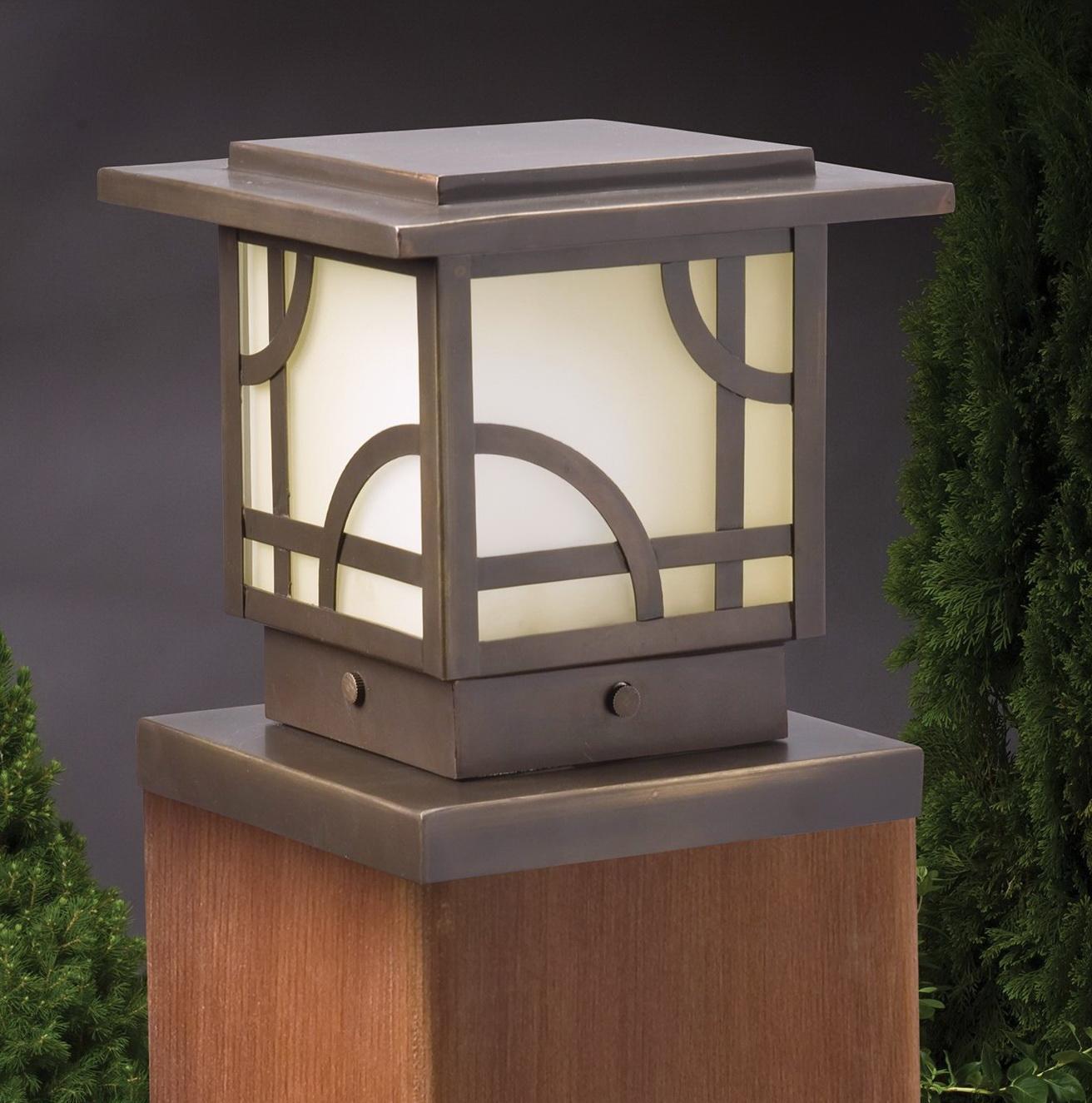 Hummingbird Solar Deck Post Caps
