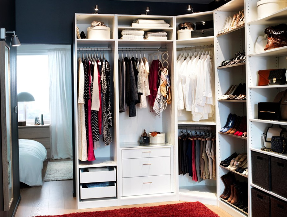 Ikea Closet Ideas Pinterest