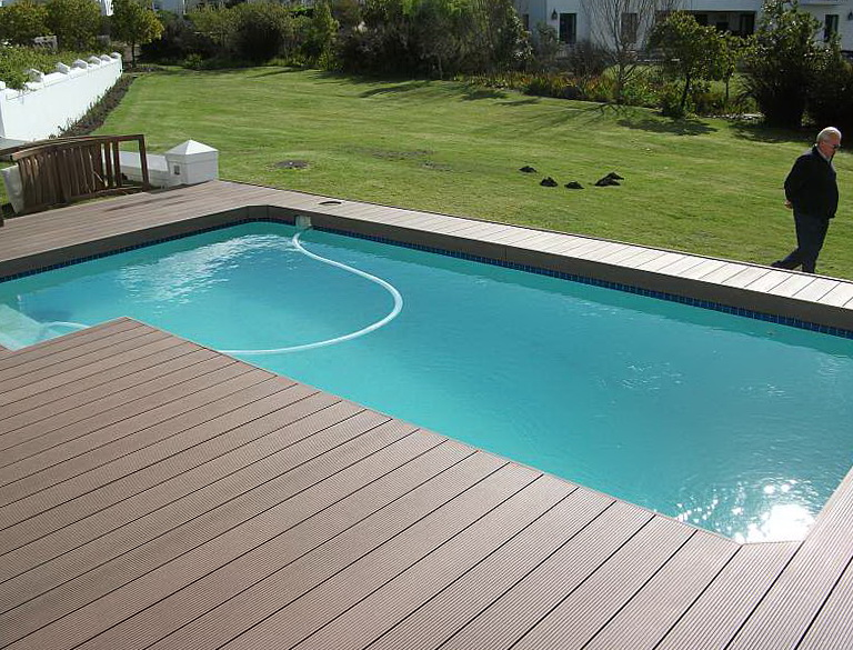 Installing Composite Decking Around Pool Home Design Ideas