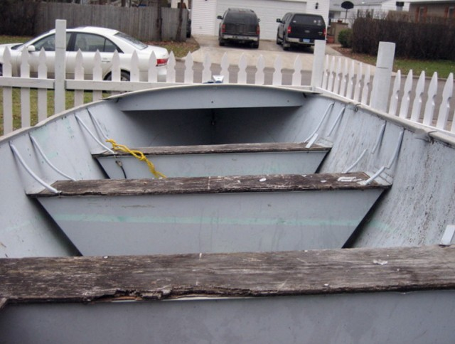Jon Boat Deck Build