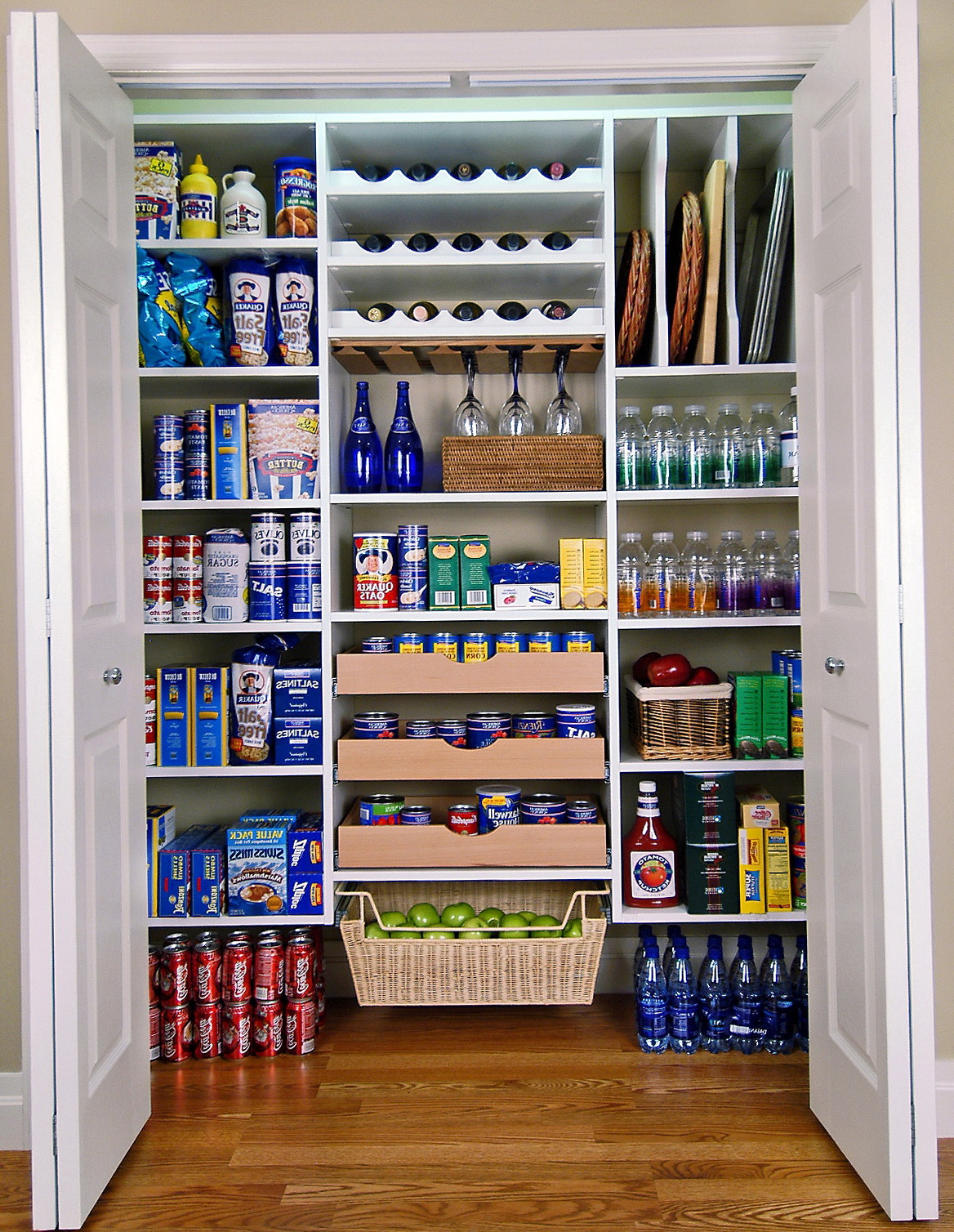 Kitchen Closet Organizer