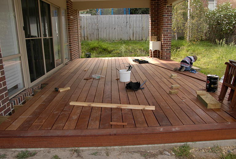 Laying Deck Boards On Concrete Home Design Ideas