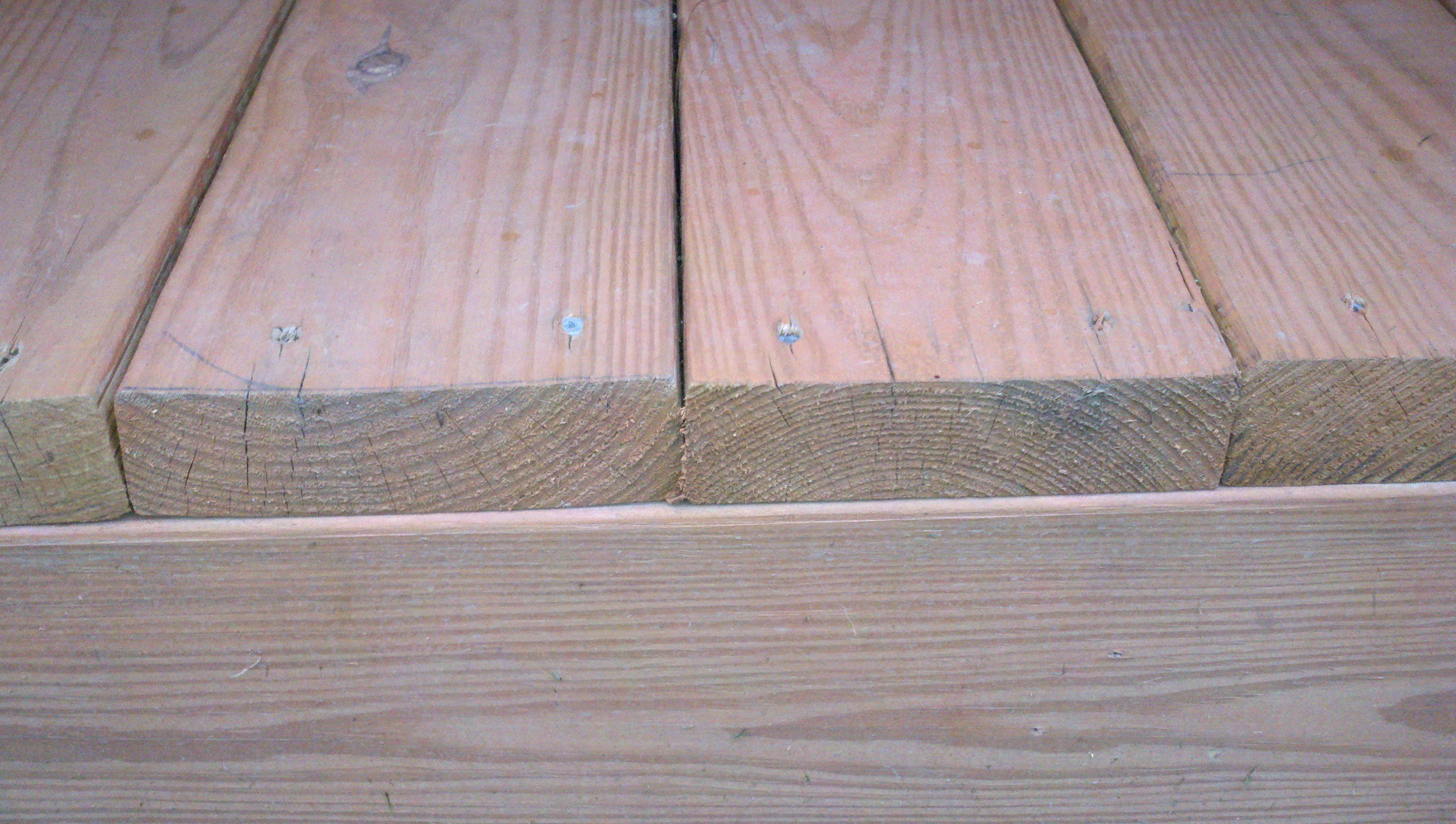 Laying Deck Boards Spacing