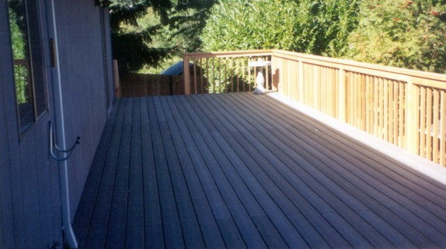 Maintenance Free Decking Colors