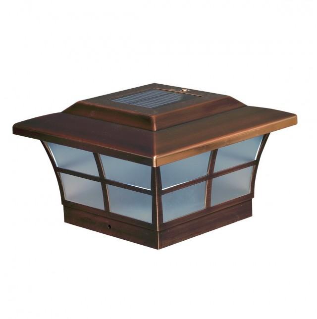 Menards Solar Deck Post Caps