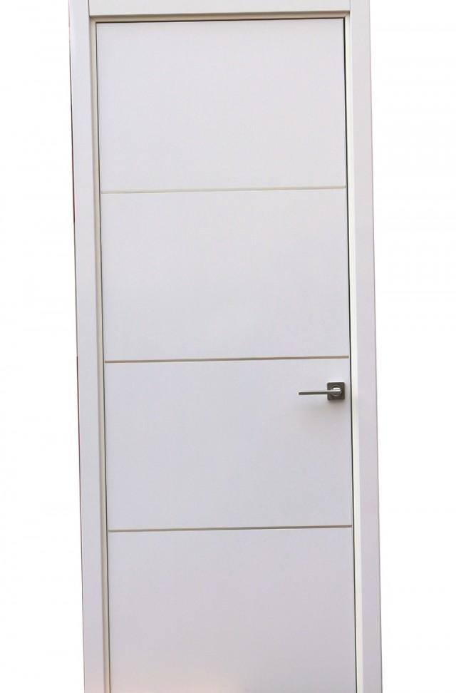 Modern White Closet Doors