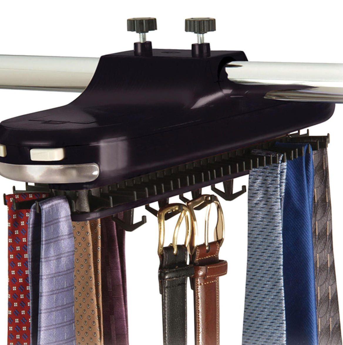 Best Tie Racks For Closets: Motorized Tie Racks For Closets