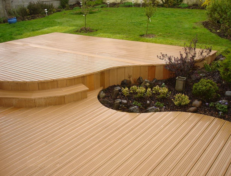Non wood decking products home design ideas for Non wood decking material