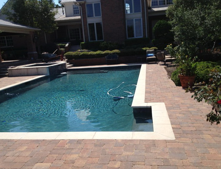 Pool Deck Pavers Cost