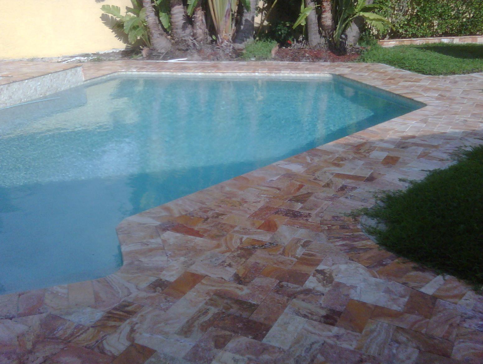 Pool Deck Pavers Miami