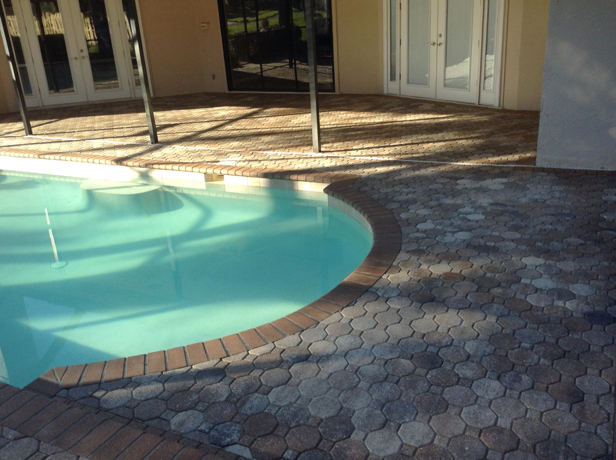 Pool deck pavers tampa home design ideas for Above ground pool decks tampa
