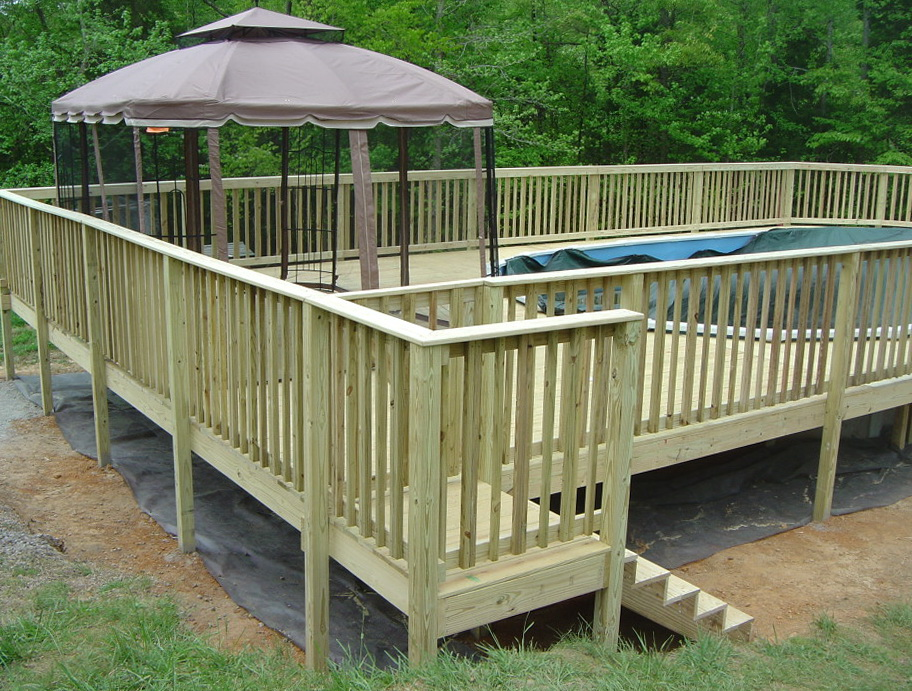 Portable Gazebo For Decks Home Design Ideas