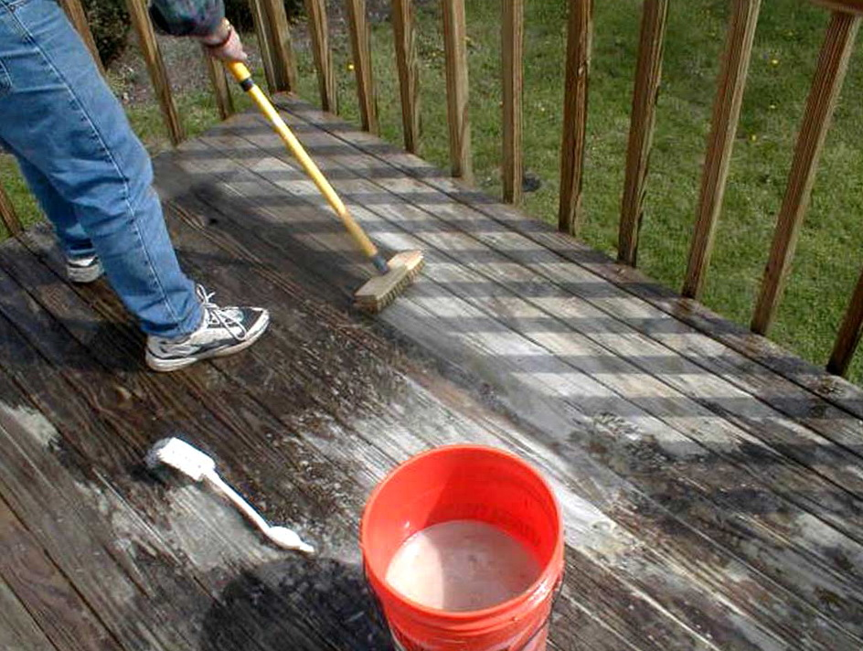 Power Wash Deck Bleach