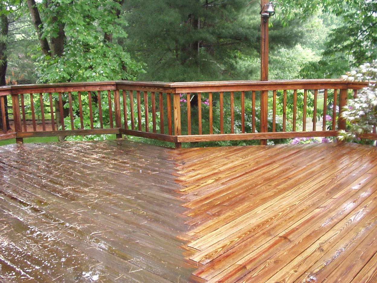 Power Wash Deck Cost
