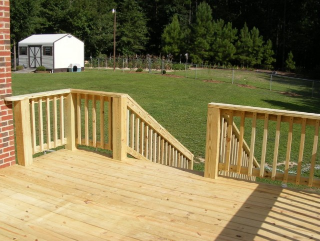 Power Wash Deck Paint