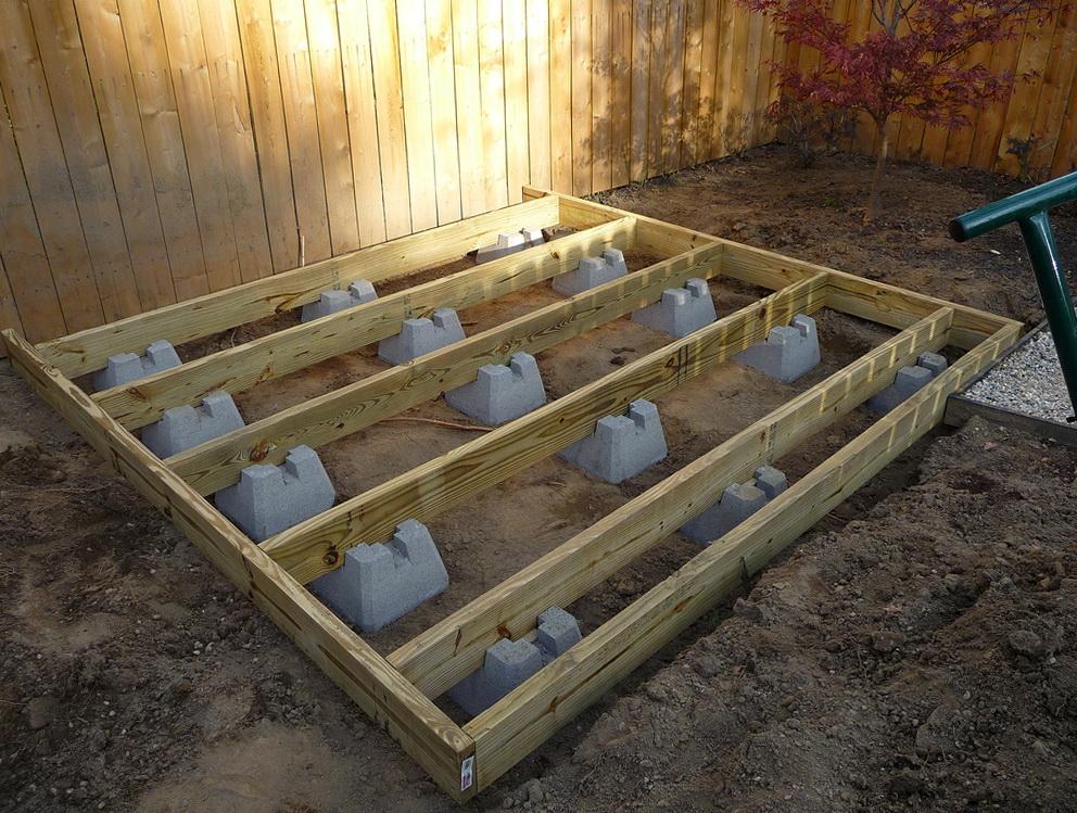 Precast Deck Footings Lowes Home Design Ideas