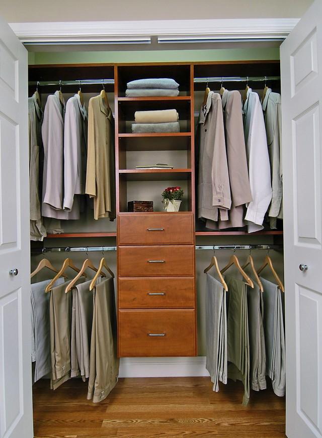 Reach In Closet Design Plans