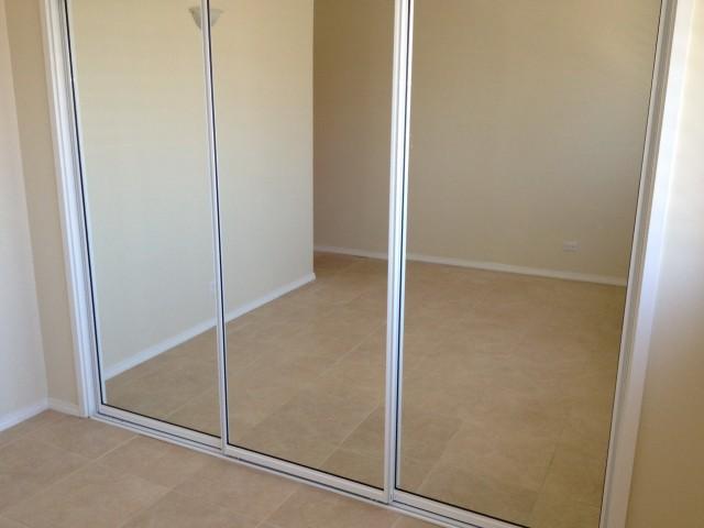 Repair Cracked Mirror Closet Door