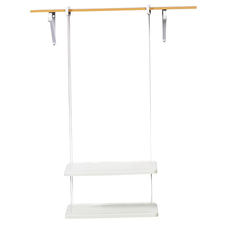 Rubbermaid Closet Helper 2 Shelf Unit
