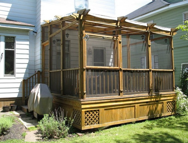 Screened In Decks Pictures