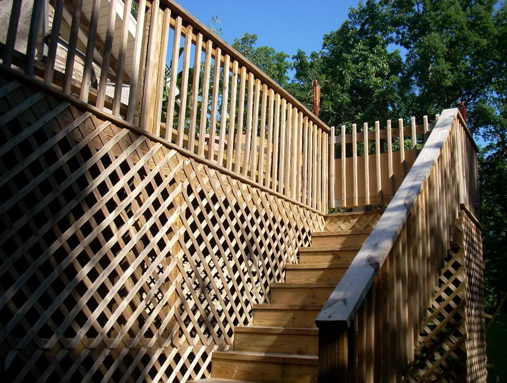 Second story deck cost home design ideas for Second story deck cost