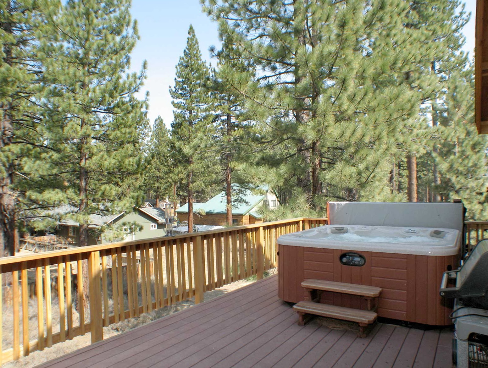 Second Story Deck Hot Tub Home Design Ideas