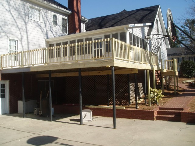 Second Story Deck Privacy Ideas