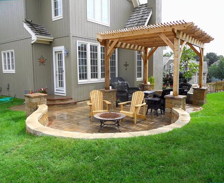 Small Deck Designs Backyard