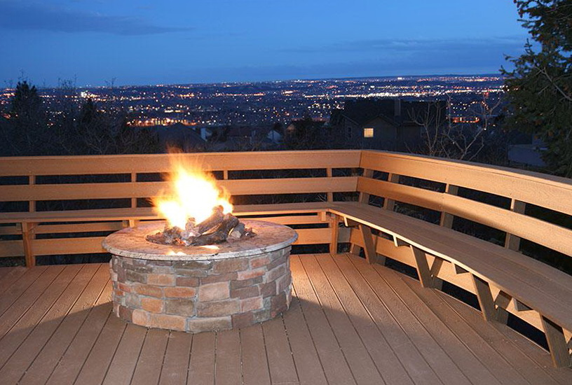 Small Fire Pits For Decks