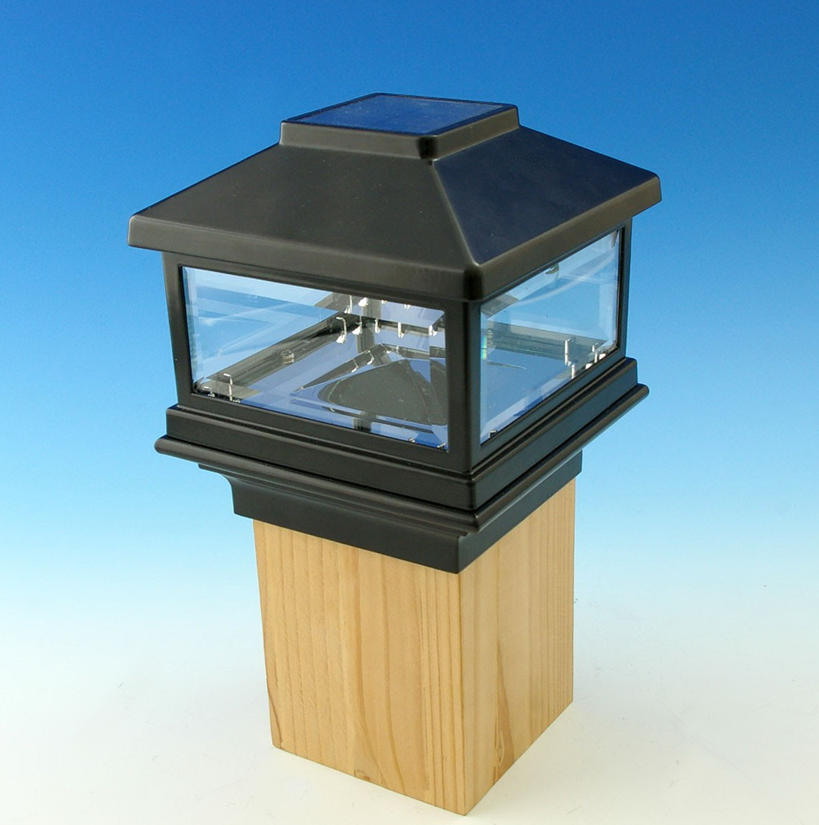 Solar Lights For Deck Posts Home Depot
