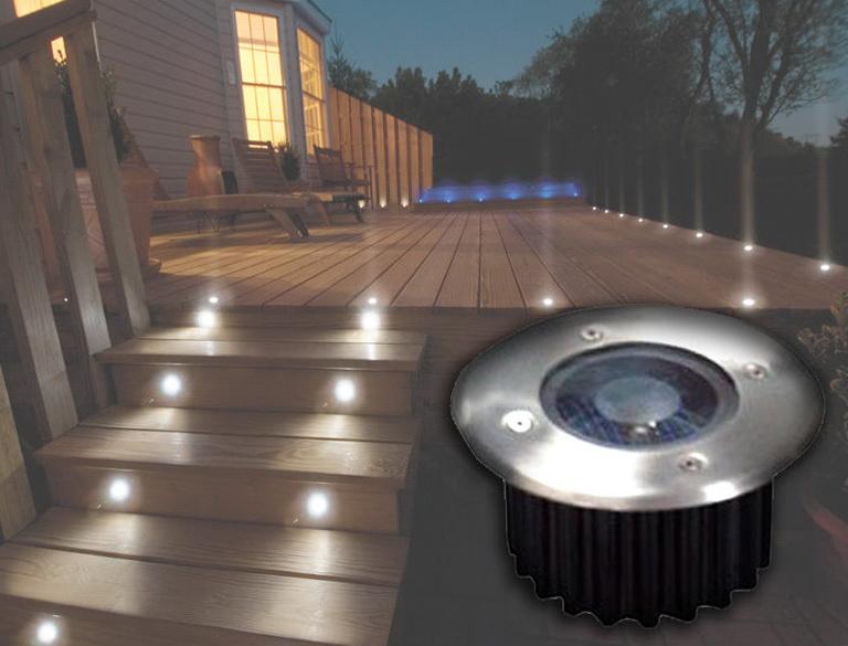 Solar Powered Deck Lights Uk Home Design Ideas
