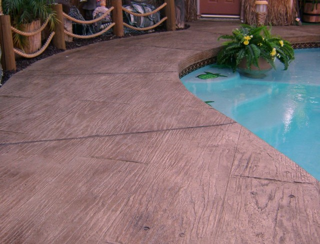 Stamped Concrete Pool Deck Reviews