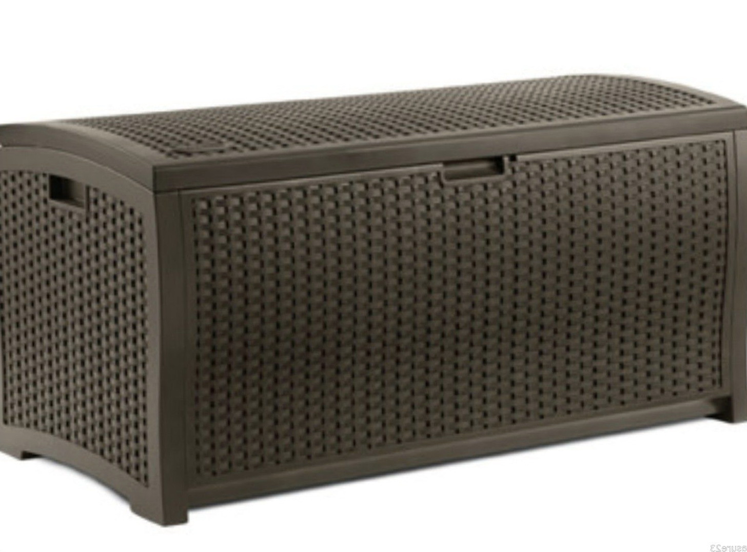 Suncast Deck Box With Seat 99 Gallon