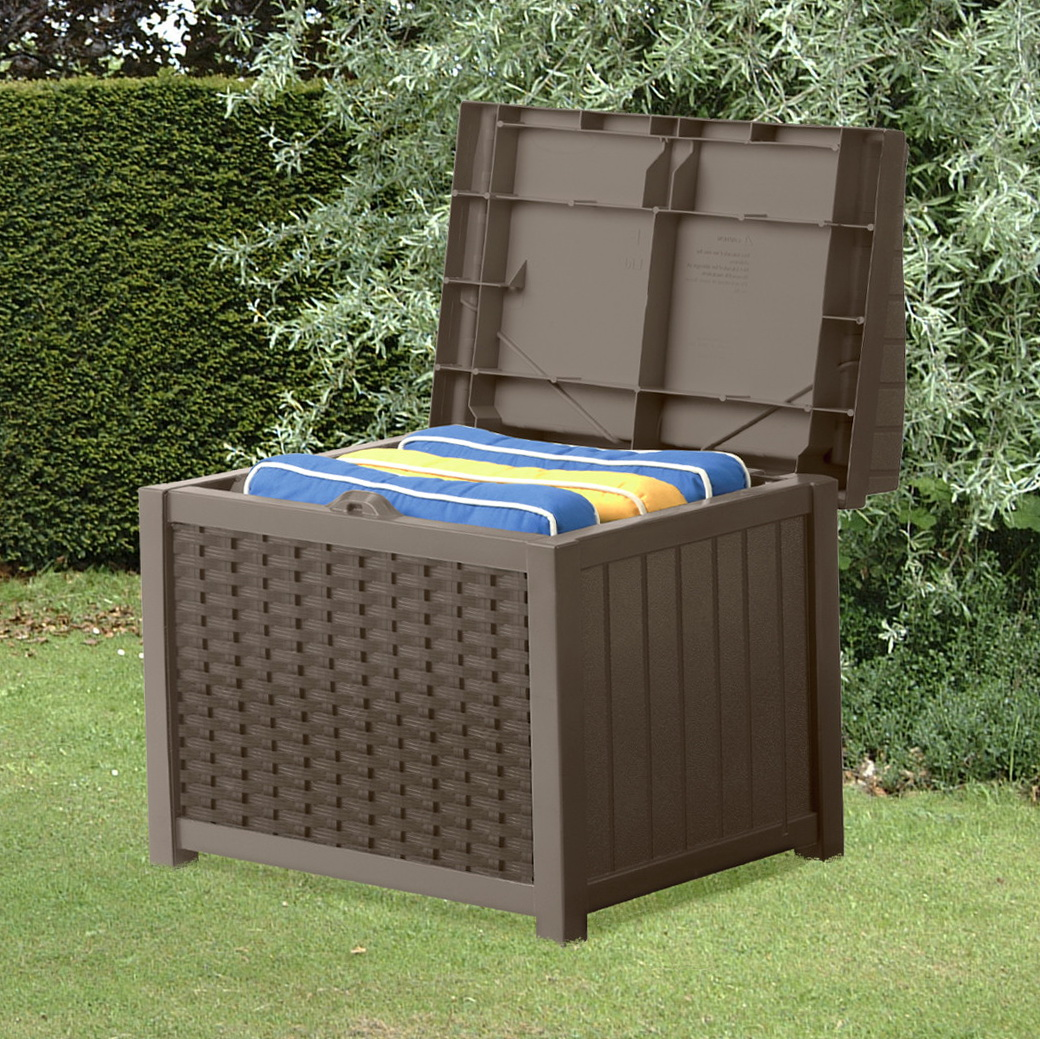 Suncast Deck Box With Seat Java