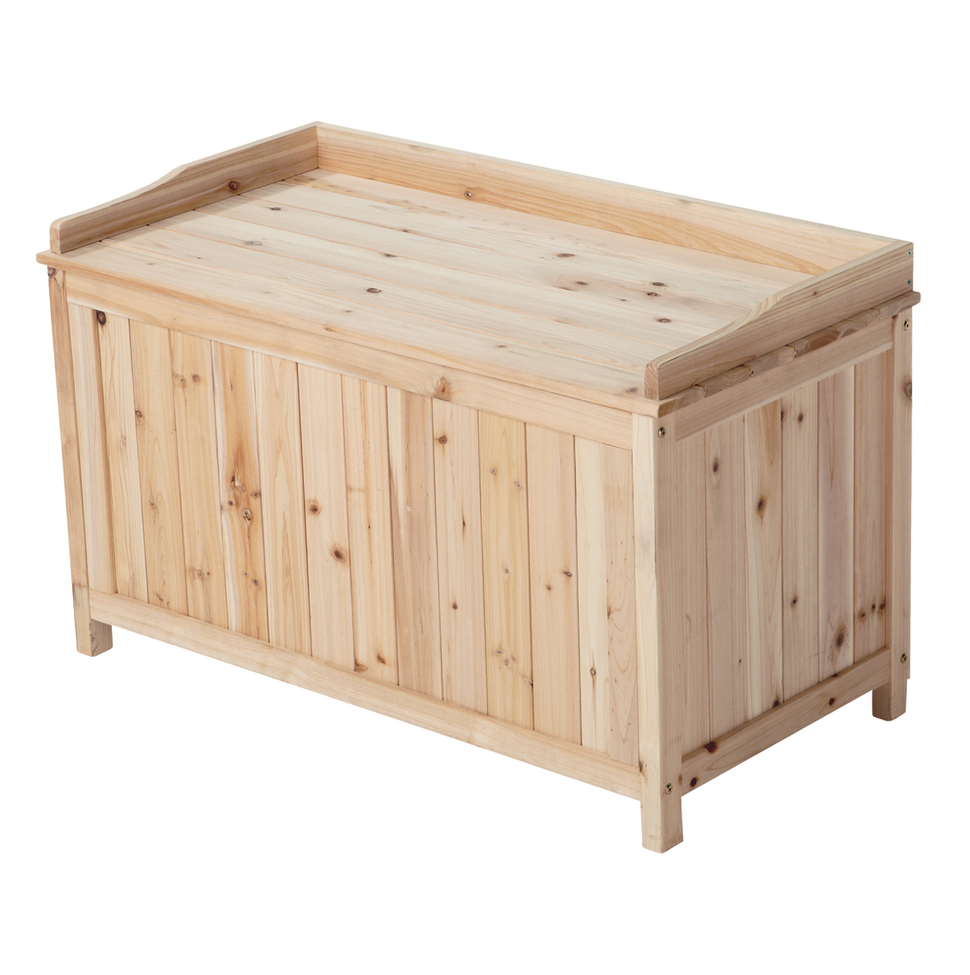 Suncast Deck Box With Seat Taupe