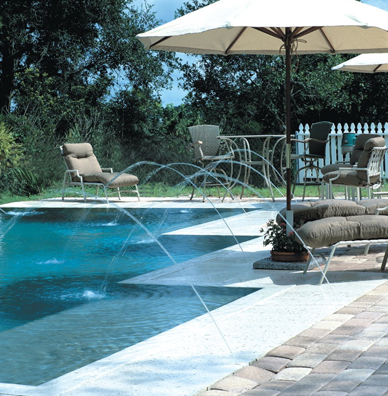 Swimming pool deck jets home design ideas for Pool jets design