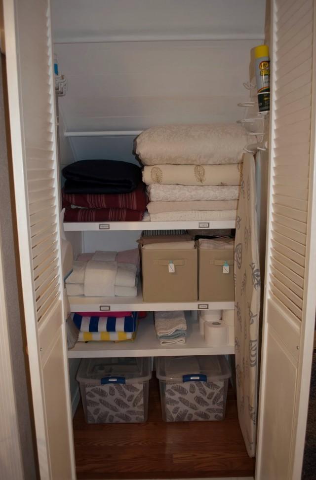 Under Stairs Closet Shelving