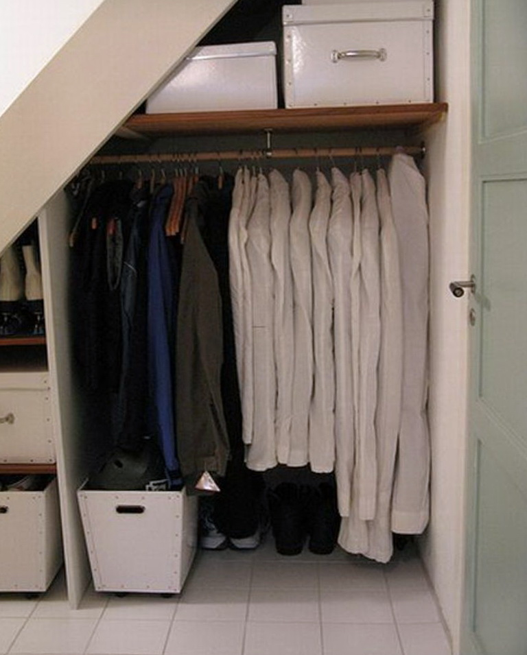 Under Stairs Coat Closet Ideas Home Design Ideas